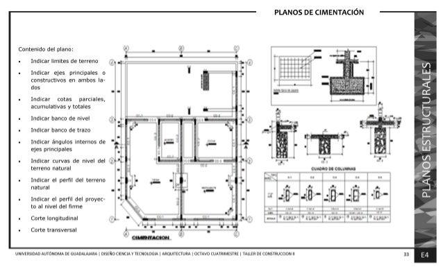 Manual para la elaboraci n de proyectos ejecutivos for Planos arquitectonicos pdf