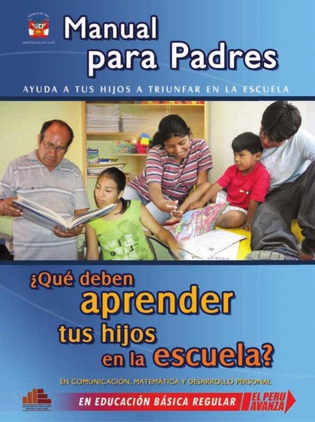 IMPORTANTE PARA LOS PADRES/MADRES DE HOY EN DÍA