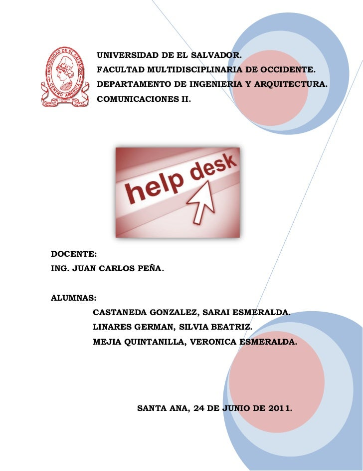 UNIVERSIDAD DE EL SALVADOR.           FACULTAD MULTIDISCIPLINARIA DE OCCIDENTE.           DEPARTAMENTO DE INGENIERIA Y ARQ...