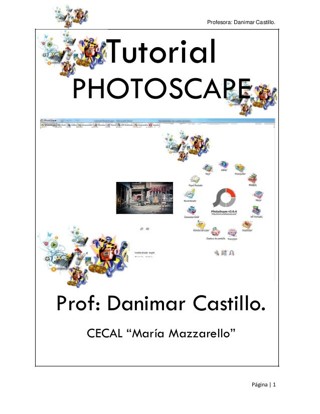 Manual Photoscape Editor de Recursos Multimedia
