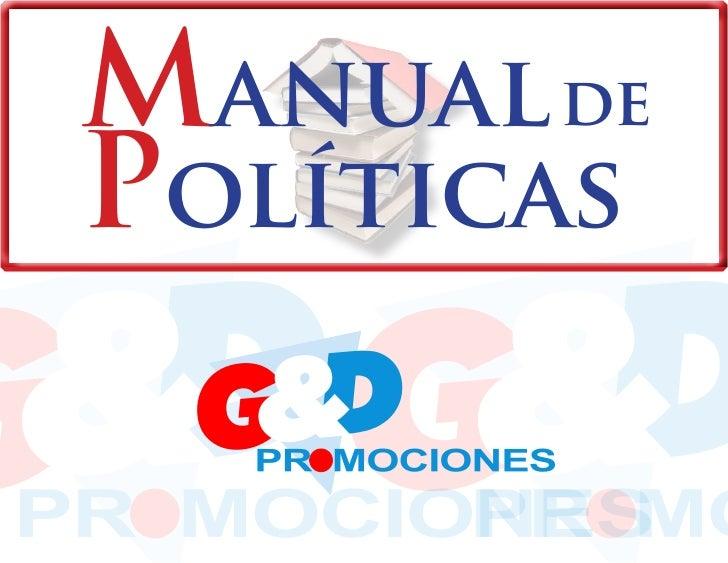 Manual de Políticas