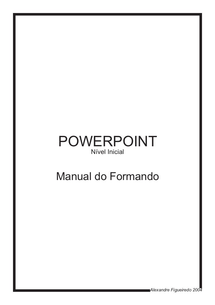 Manual power point
