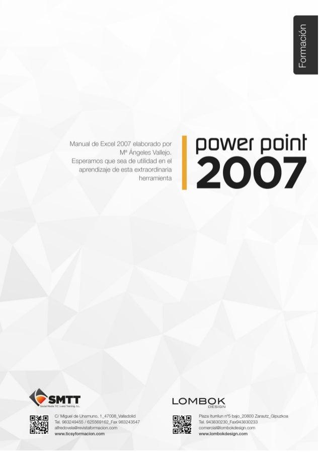 Manual de PowerPoint 2007