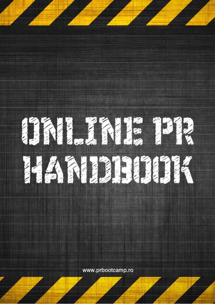 Online PR Handbook