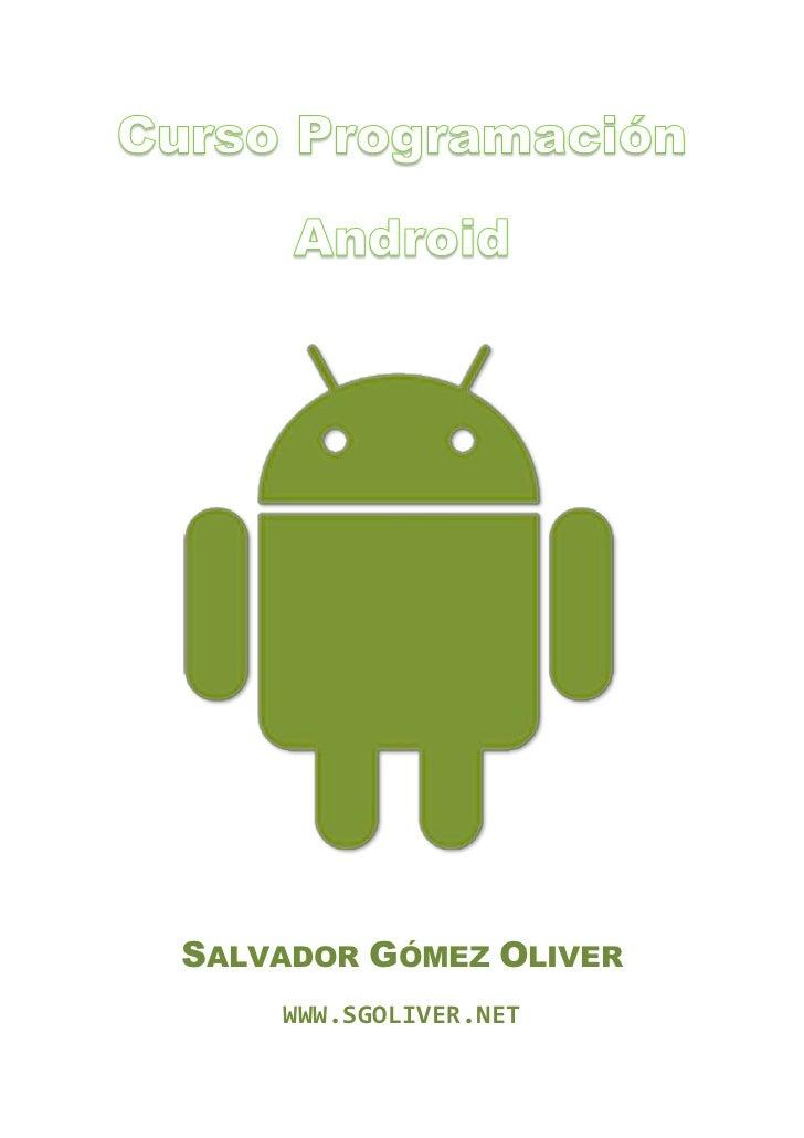 SALVADOR GÓMEZ OLIVER    WWW.SGOLIVER.NET
