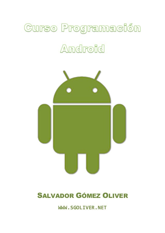Manual programacion android