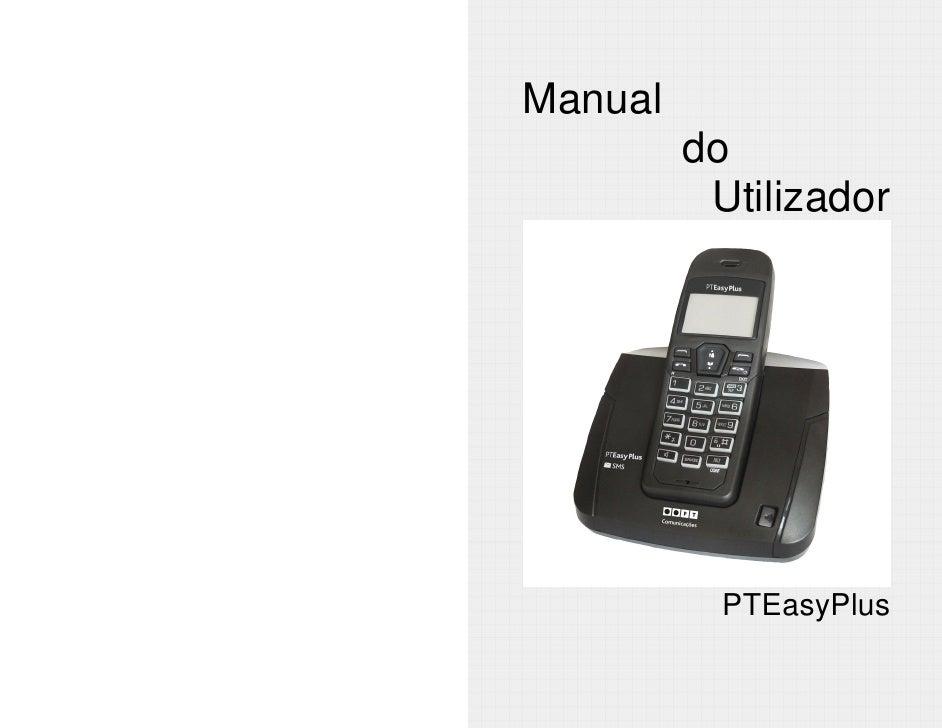 Manual          do           Utilizador                PTEasyPlus