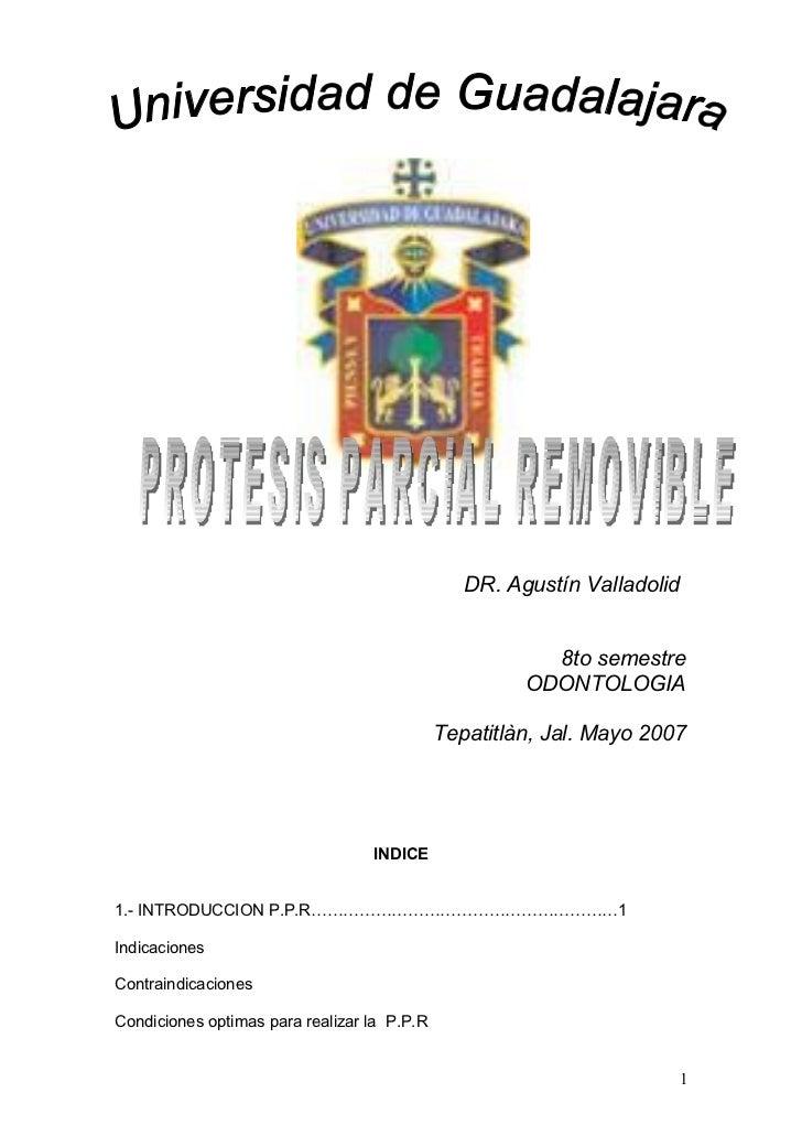 DR. Agustín Valladolid                                                           8to semestre                             ...
