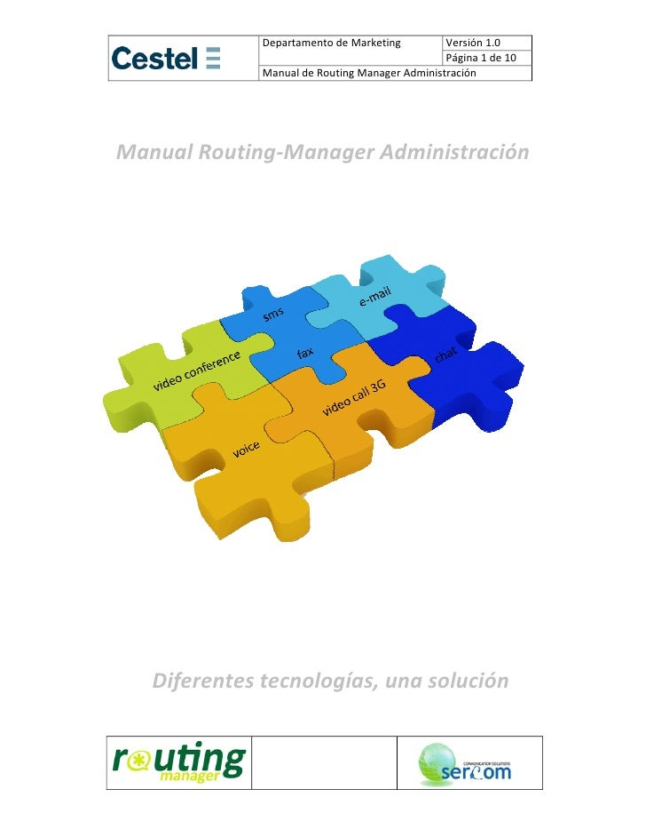 Manual Routing Manager