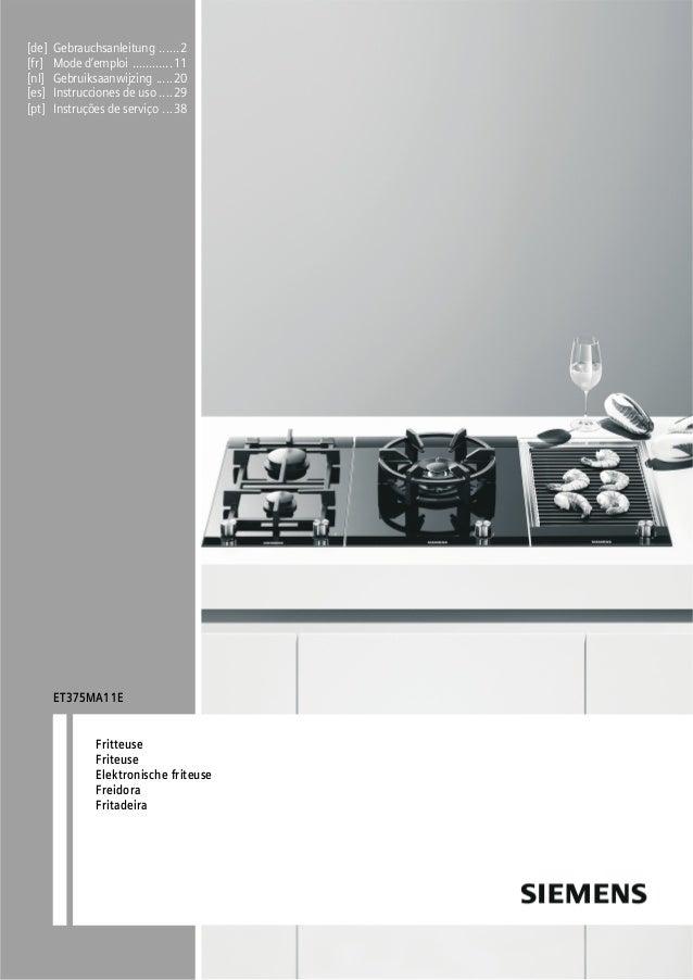 [de] Gebrauchsanleitung ......2 [fr] Mode d'emploi ............11 [nl] Gebruiksaanwijzing .....20 [es] Instrucciones de us...
