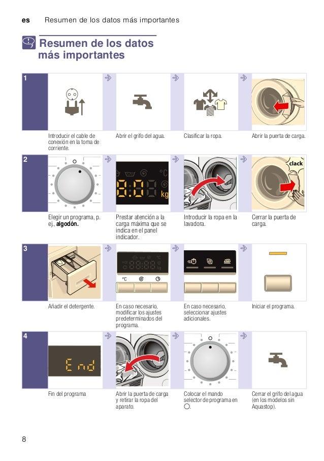 manual siemens lavadora wm14k268ee
