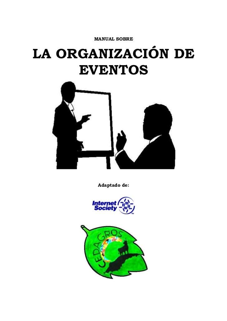 manual para la organizacion de eventos pdf uploadvancouver
