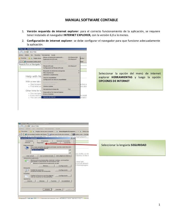 Manual software
