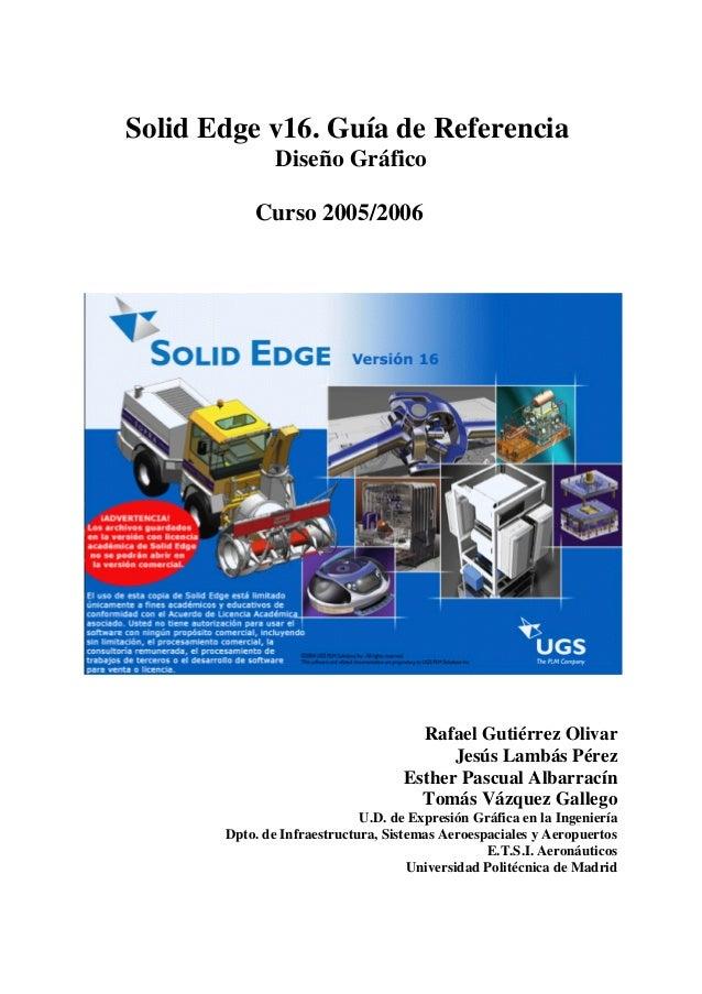 Manual solid edge v16