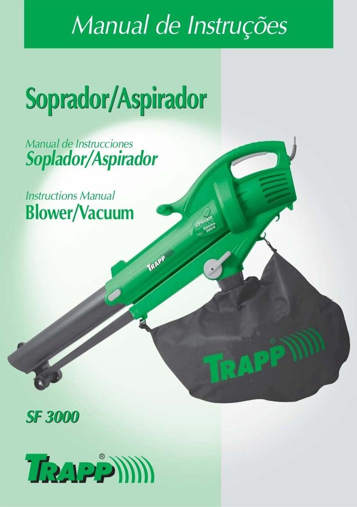 Trapp Manual Soprador Aspirador