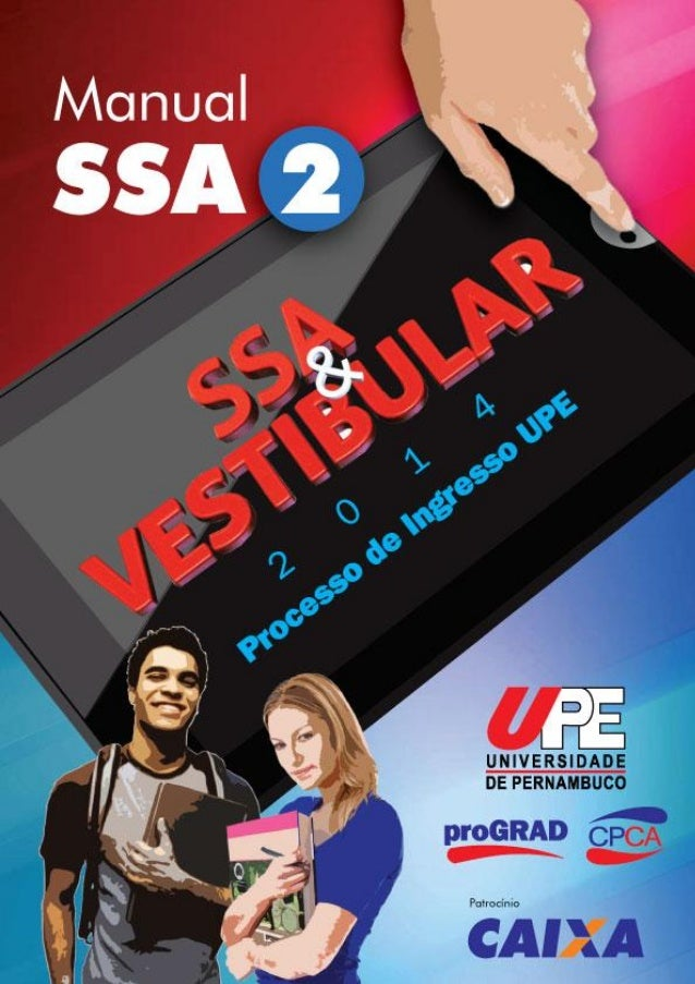 VESTIBULAR UPE - Manual SSA 2014_fase_2