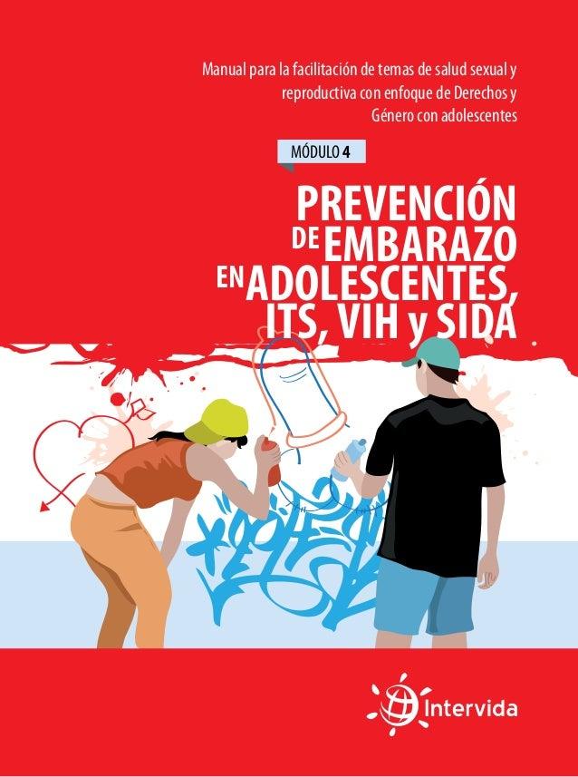 Manual 4 para la facilitación de temas de salud sexual y reproductiva con enfoque de Derechos y Género con adolescentes