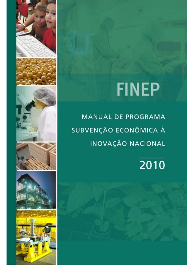 Manual subvencao2010