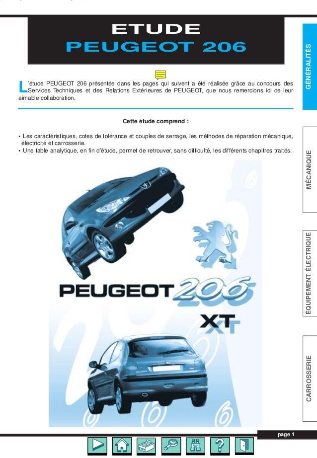 Manual Taller 206 Frances