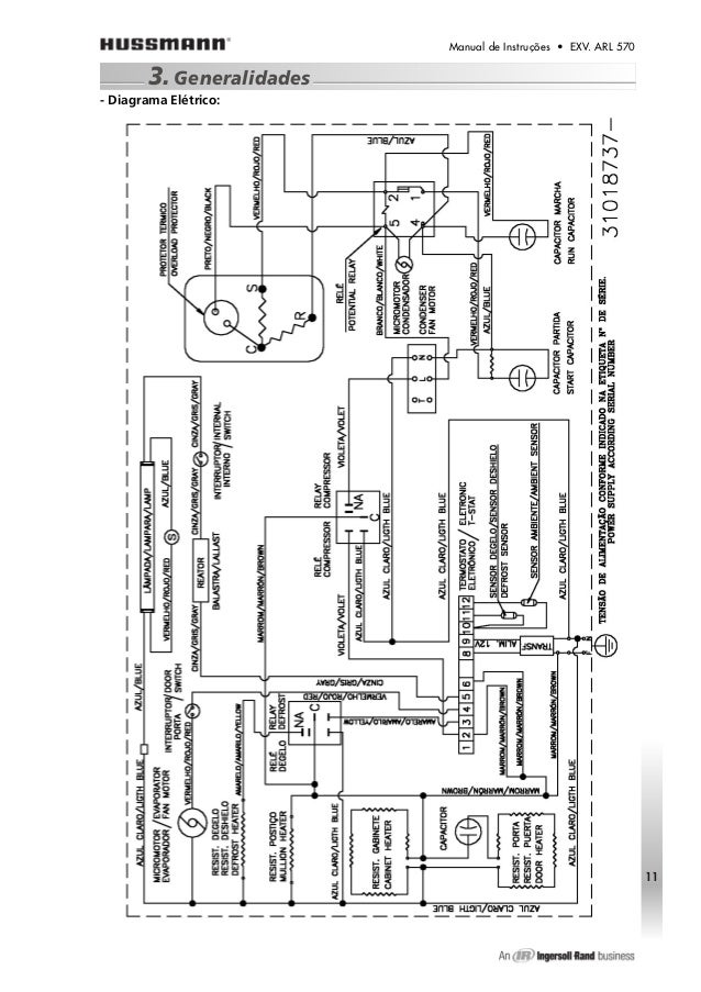 Manual tecnico hussmann_arl570