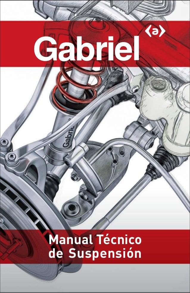 Manual tecnico suspension a for Diseno de interiores un manual pdf