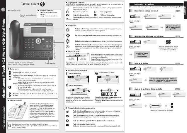 Manual terminal ip 4028