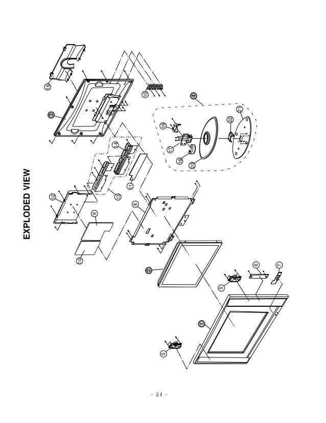 Manual tv lcd da LG RT-15LA70