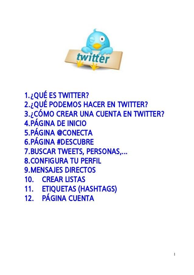 Minimanual de twitter 2013