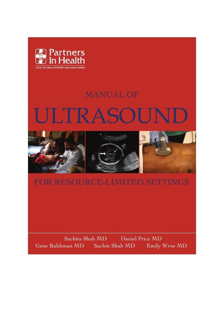 Manual ultrasound