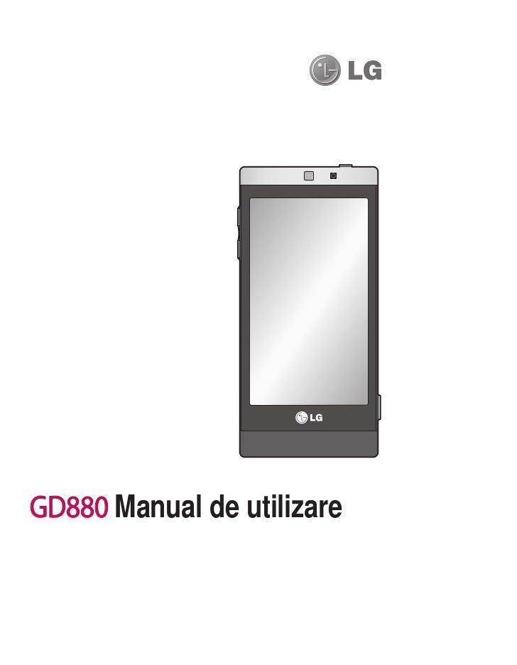 GD880 Manual de utilizare