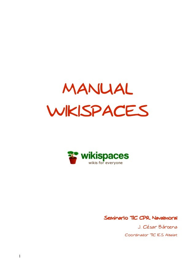 Manual+wikispaces