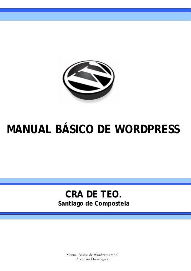 Manual+wordpress