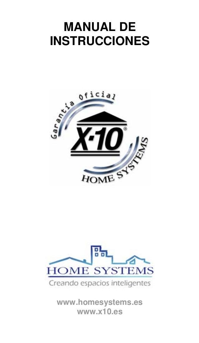 Manual x10