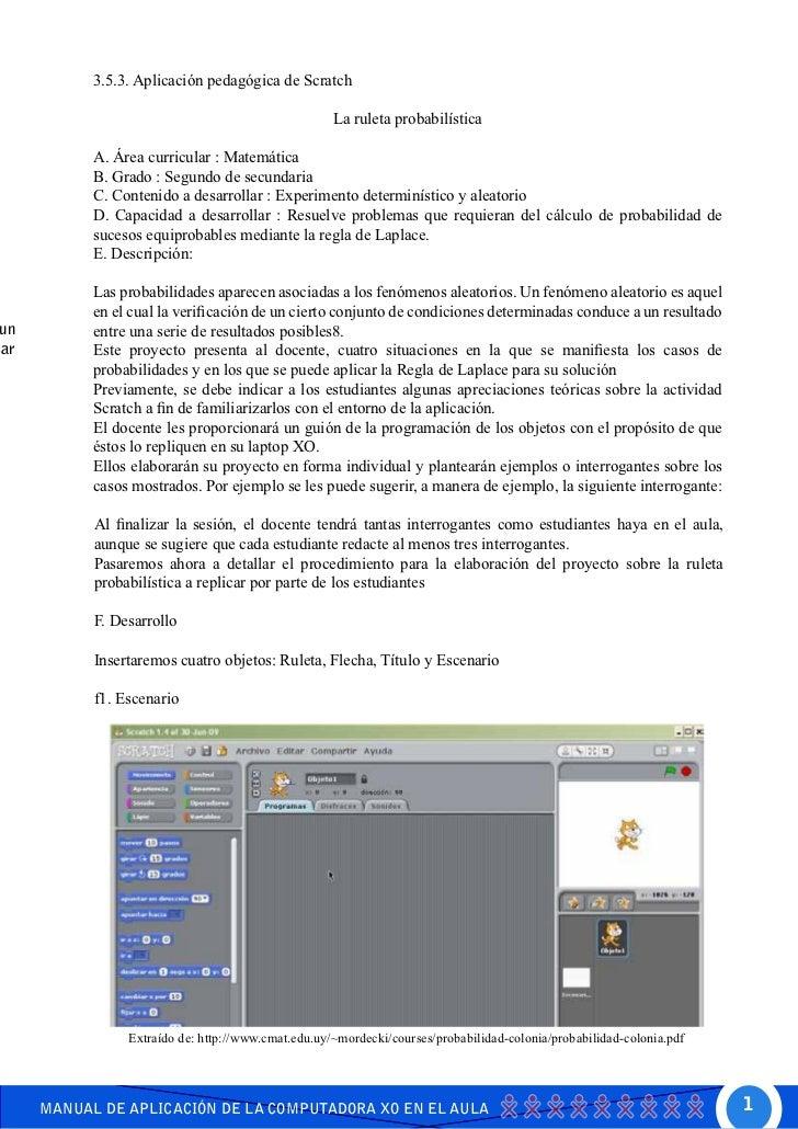 Manual XO Secundaria