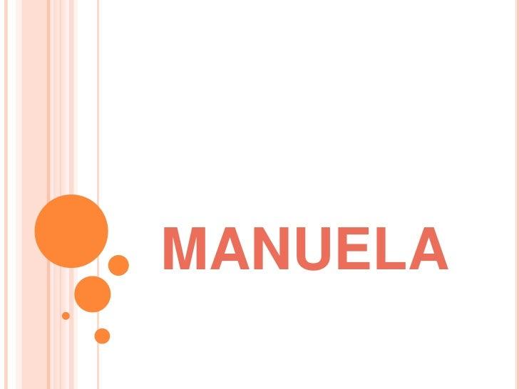 MANUELA<br />