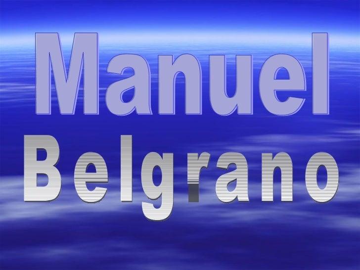 Belgrano Manuel