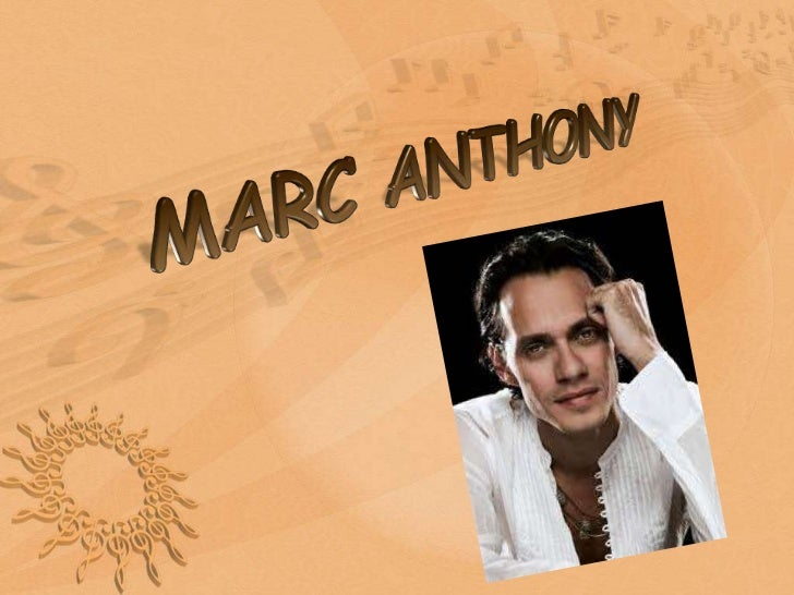 MARC ANTHONY<br />