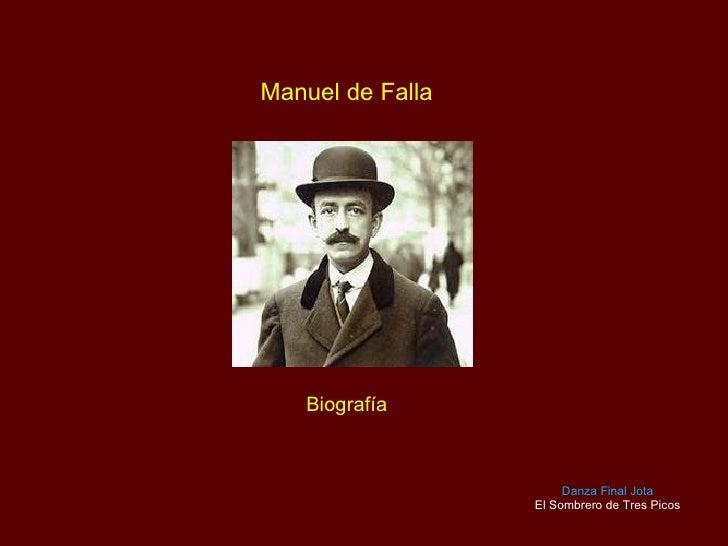 Manuel de Falla - Biografia y Musica