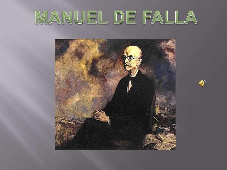 Manuel De Falla (VersióN 2007)