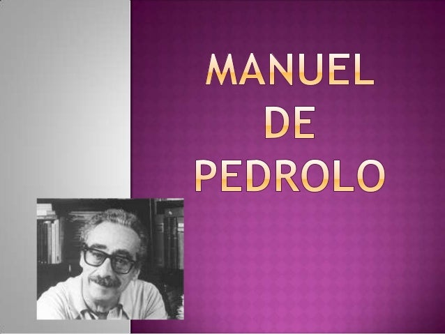  Manuel de Pedrolo i Molina va ser unnovel·lista dramaturg i poetaintel·lectual, prové d'una família noble. Quan era pet...