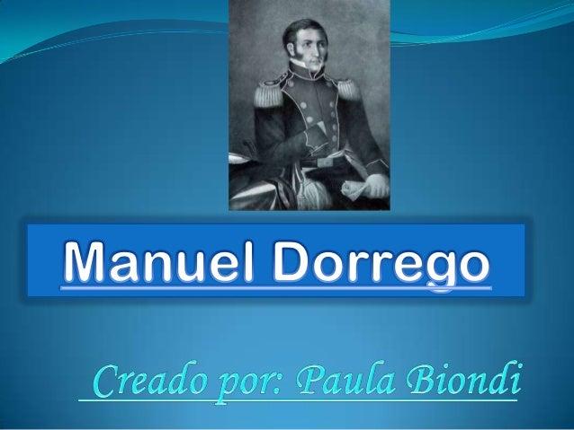 Manuel dorrego pp