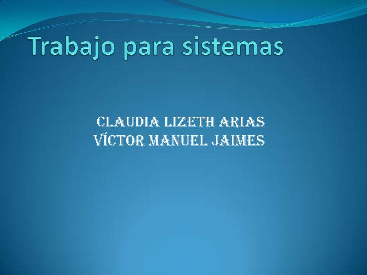 Claudia Lizeth ariasVíctor Manuel jaimes