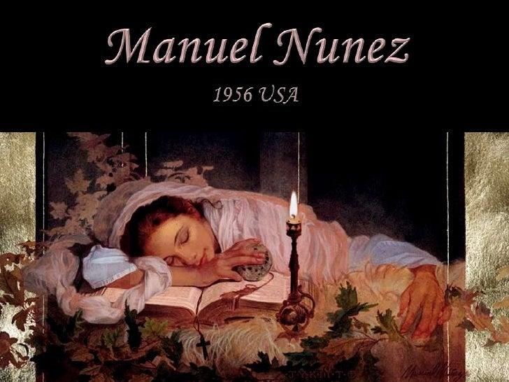 Manuel Nunez<br />1956 USA<br />