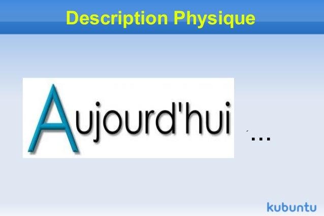 Description Physique                   ...