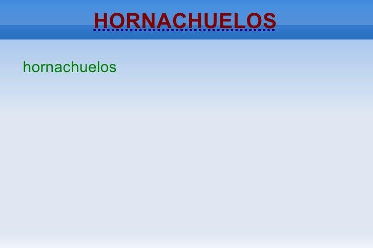 HORNACHUELOShornachuelos