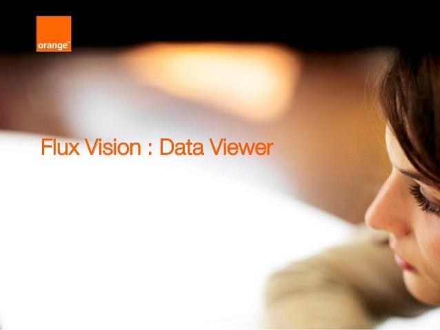1 Flux Vision : Data Viewer