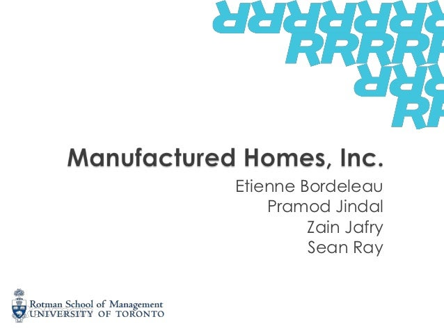 Manufactured homes inc