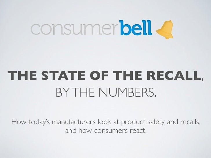 The State of the Recall, By the Numbers