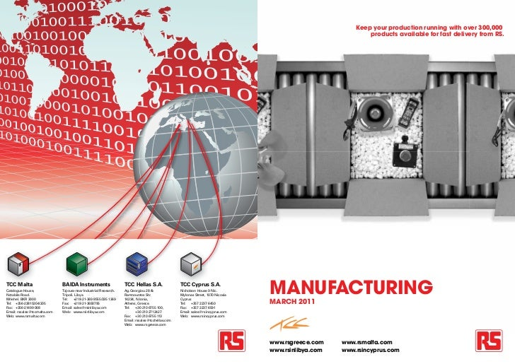 Manufacturing by RS Components Malta