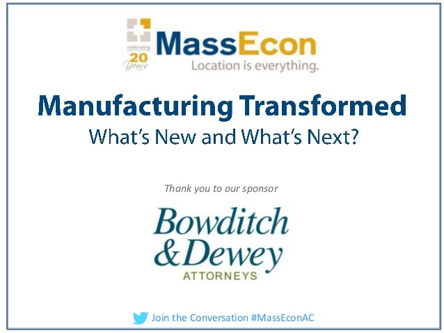 Annual Conference: Manufacturing Transformed 6/21